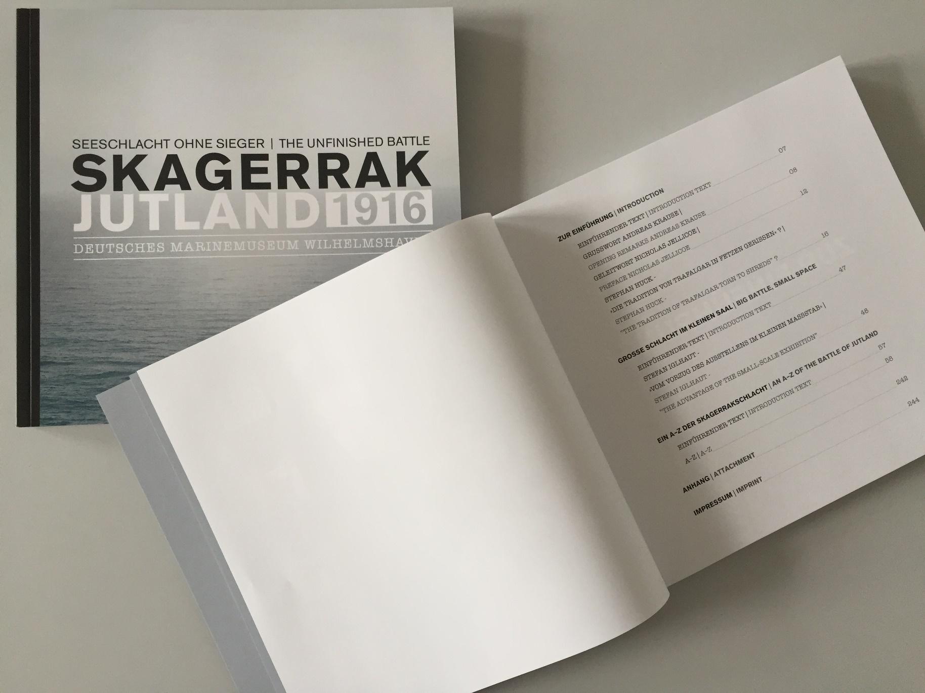 Titel und Inhaltsverzeichnis des Ausstellungskataloges