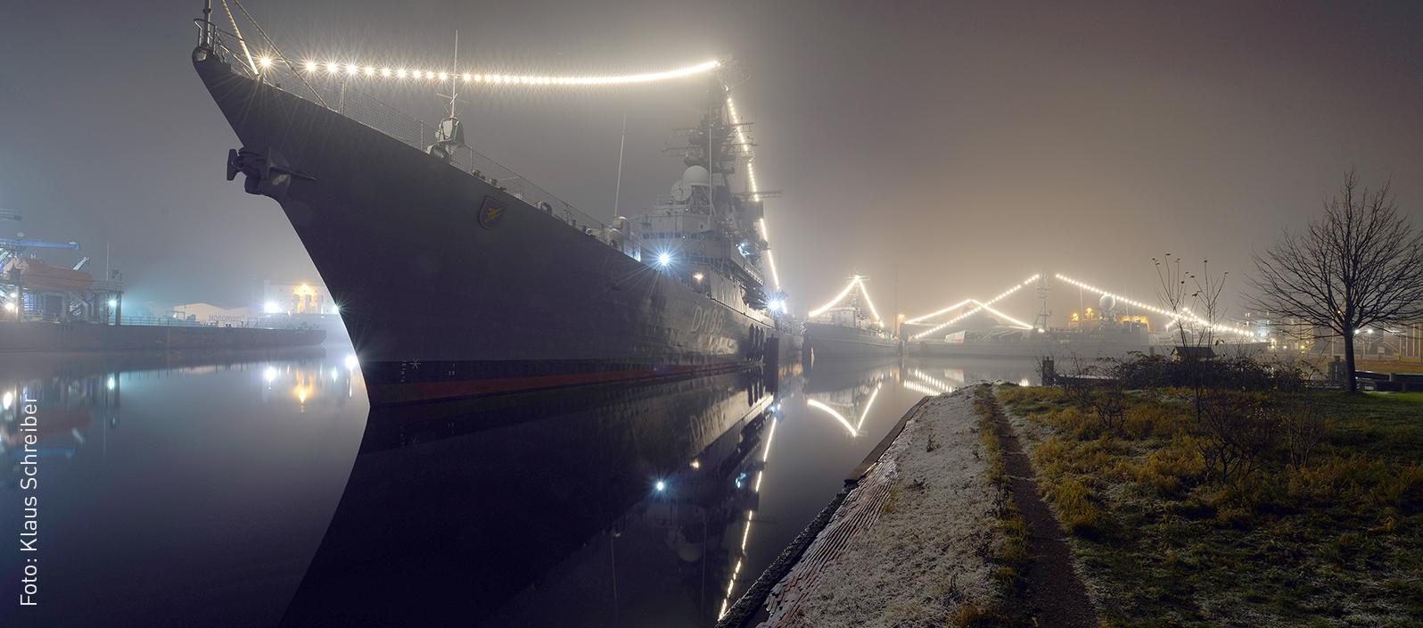 Winterstimmung im Museumshafen (Klaus Schreiber)