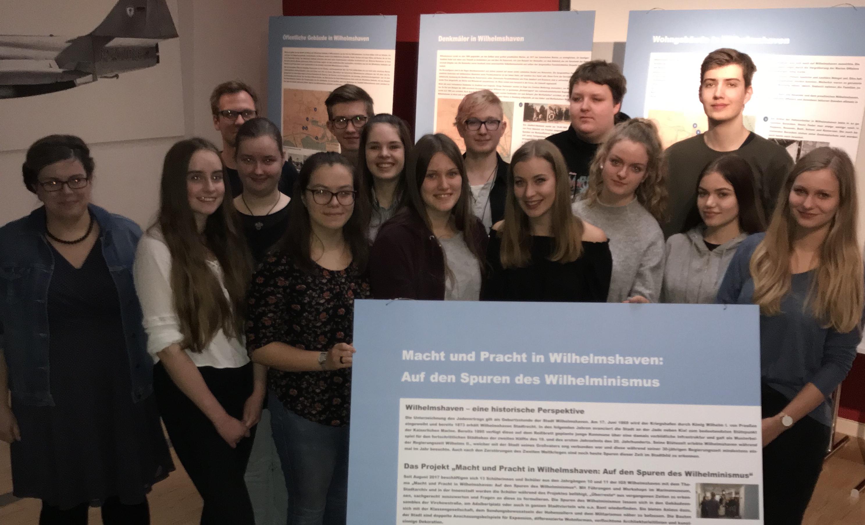 """Projektgruppe """"Macht und Pracht in Wilhelmshaven"""""""