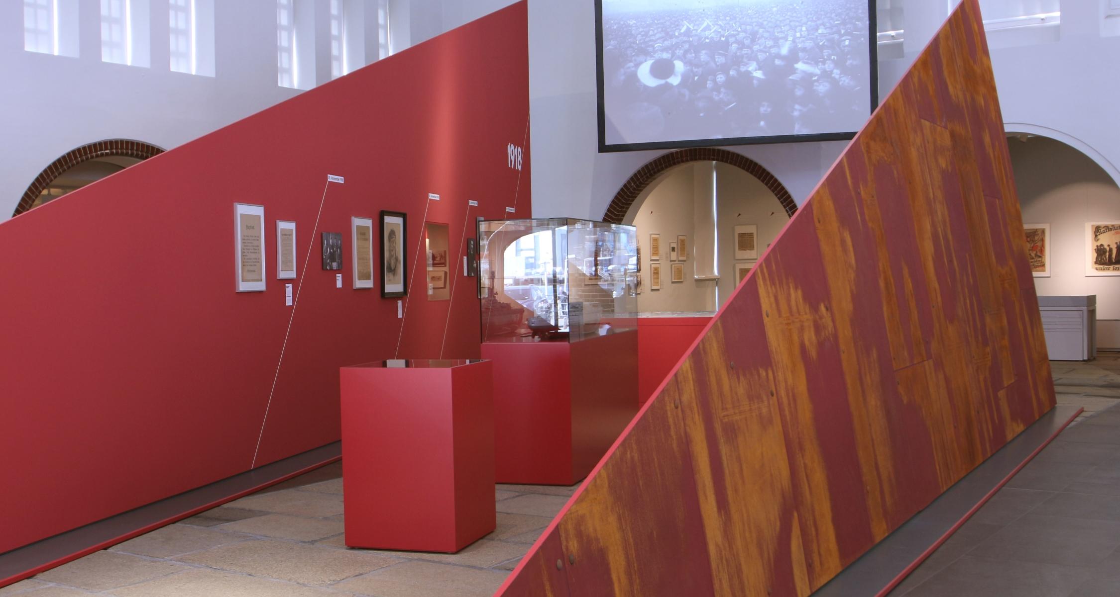 """Ausstellung """"Die Stunde der Matrosen"""" (Foto: Iglhaut + von Grote)"""