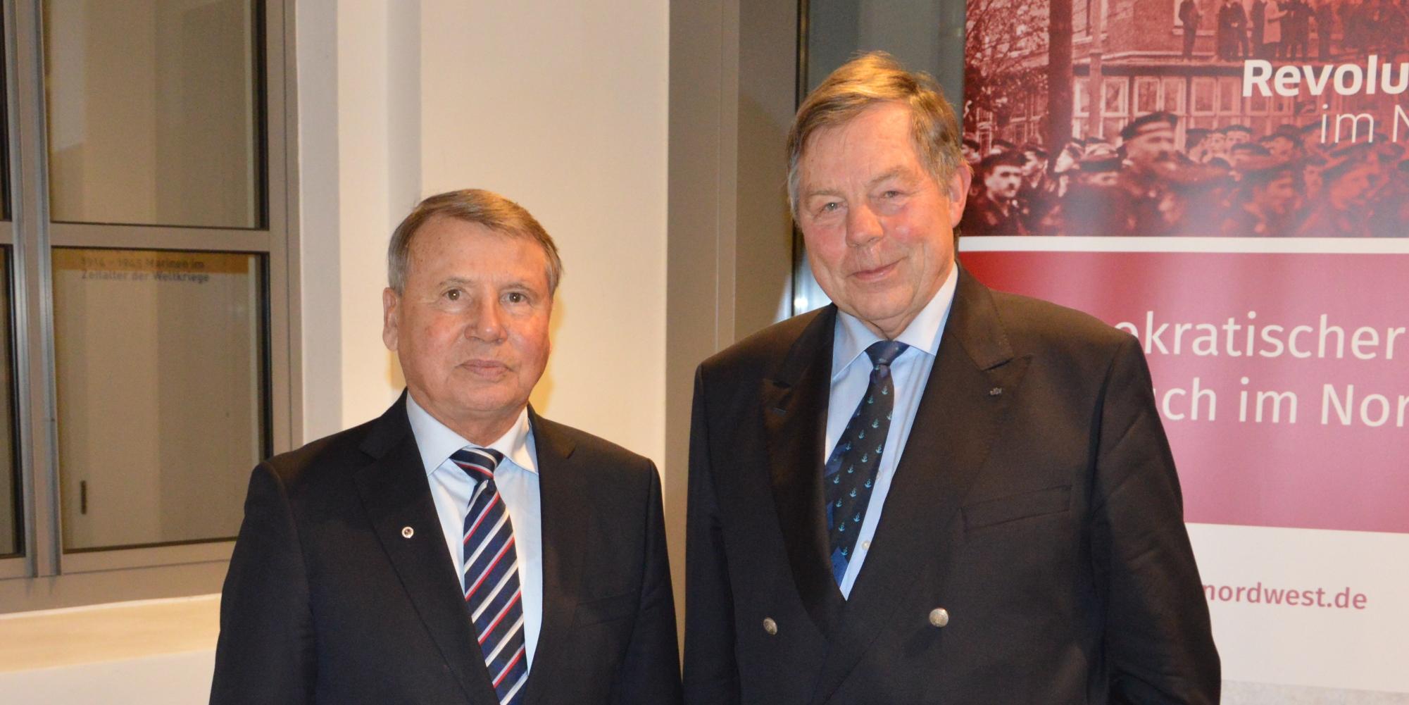 und Vorstandsvorsitzender des Deutschen Marinemuseums