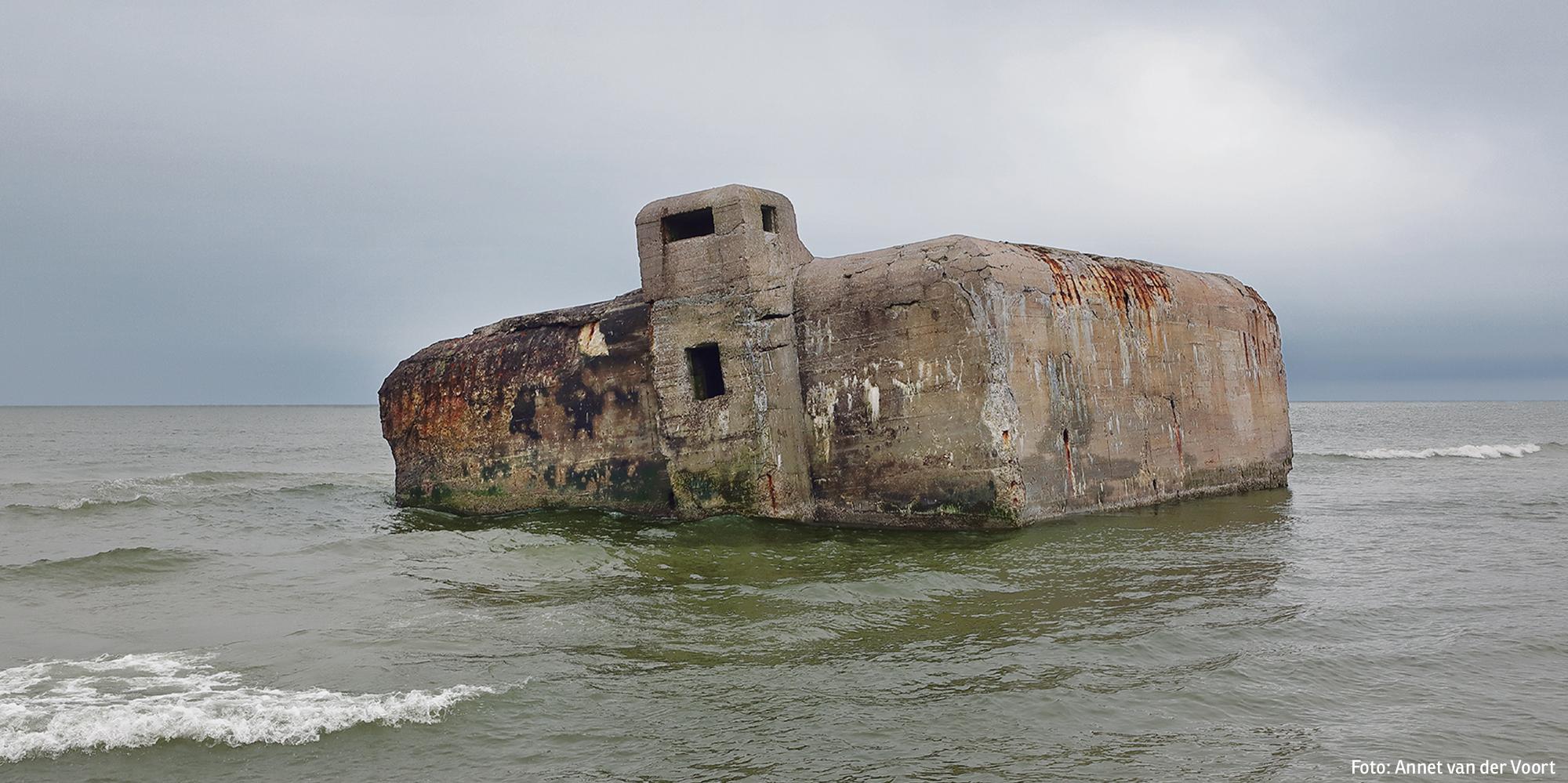 Bunker in Vigsø, Dänemark (Foto: Annet van der Voort)