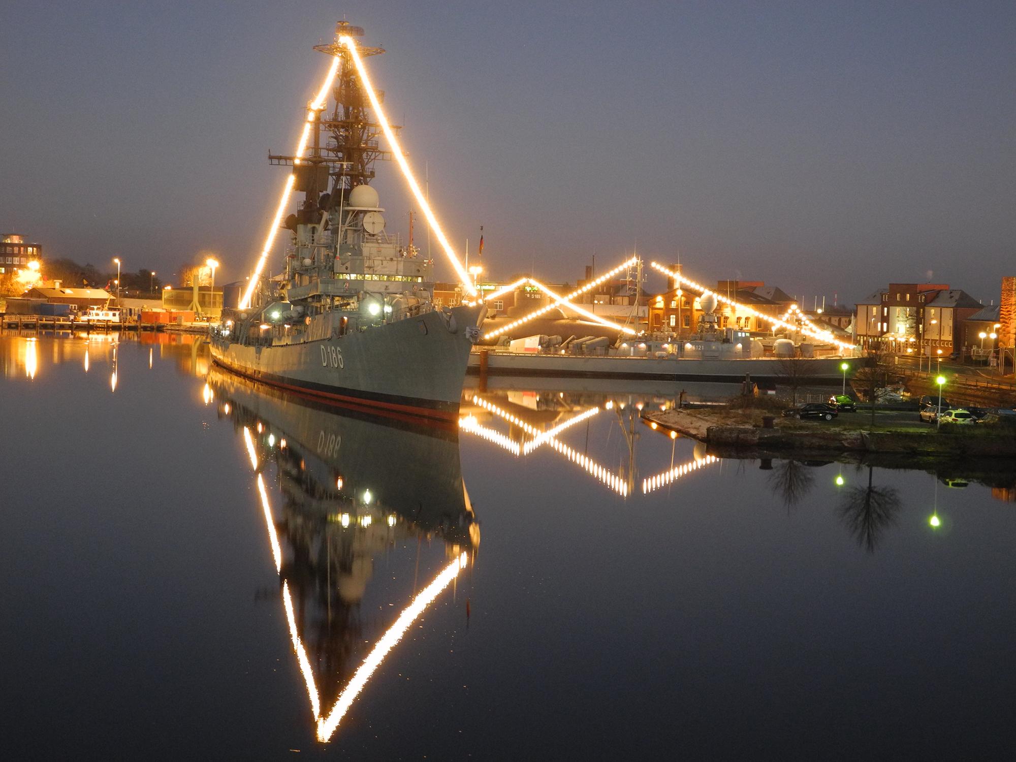 Weihnachtsstimmung im Deutschen Marinemuseum